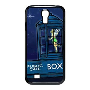Customize Doctor Who Police Box Back Case for Samsung Galaxy S4 I9500 JNS4-1614