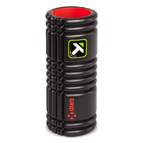 TriggerPoint GRID Foam Roller with Free Online Instructional Videos, X Extra Firm (13 inch)