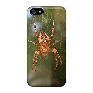 Tpu Case Skin Protector For Iphone 5/5s Spider Web Animal With Nice Appearance