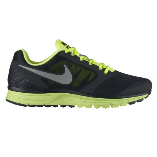 Nike Men's Zoom Vomero+ 8 Black/Reflect Silver/Volt Running Shoe 10.5 Men US