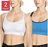Champion Ladies' Sports Bra, 2-pack X-Large, White