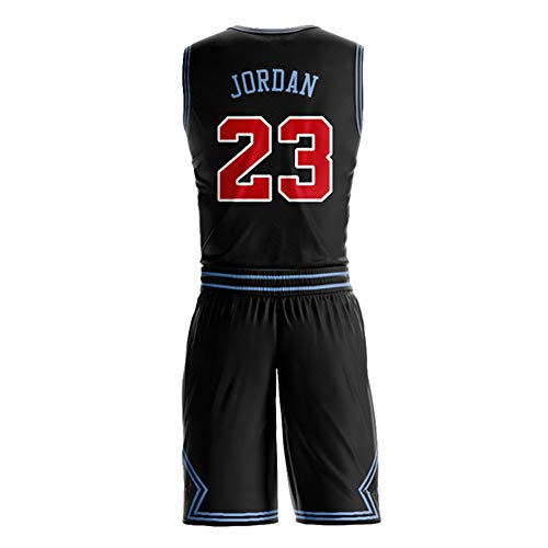 (Men_Michael_Jordan_Black_Jersey_and_Shorts)
