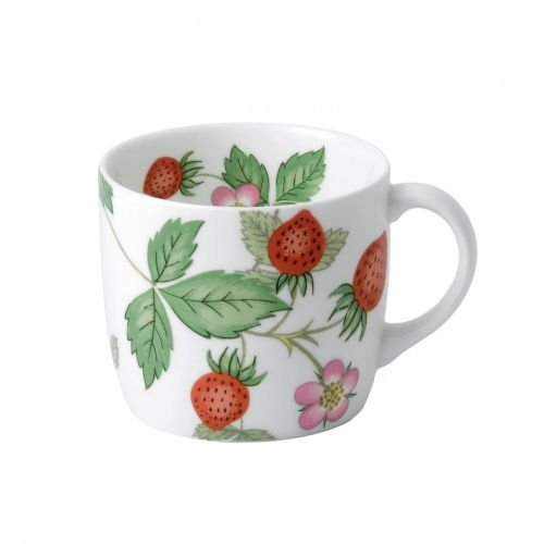 Wedgwood Wild Strawberry Mug, Small, White ()