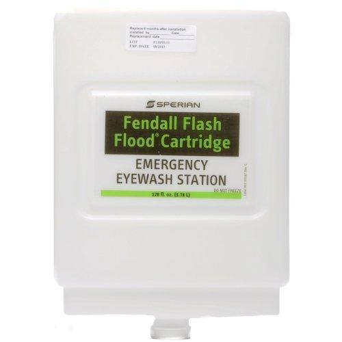 Eyesaline Premixed Solution Refill Cartridge for Flash Flood Eye Wash Station by Fendall