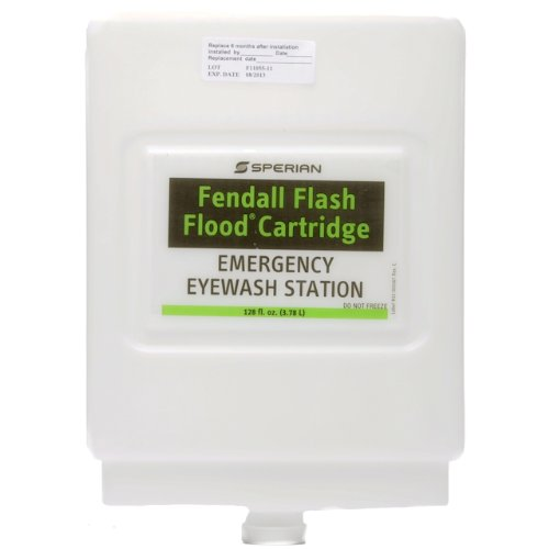 Eyesaline Eye Wash Station Refill - Eyesaline Premixed Solution Refill Cartridge for Flash Flood Eye Wash Station