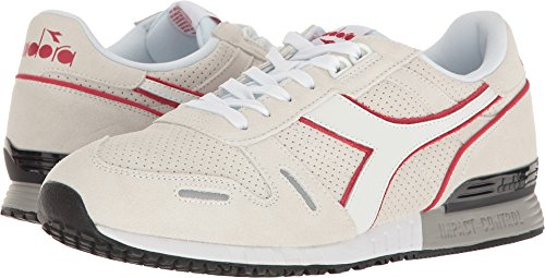 Premium Sneaker Diadora White BluePink Chili Pepper Men's Titan EqnWnxwS1H