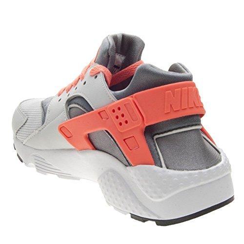 Zapatillas Nike – Huarache Run (GS) plateado/gris/coral