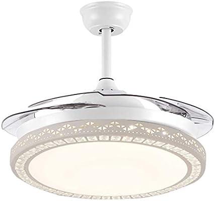 Luz del ventilador Ventilador de techo moderna de 42 pulgadas de ...