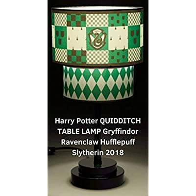 Harry Potter Quidditch Collector's Table Lamp (SLYTHERIN): Home Improvement