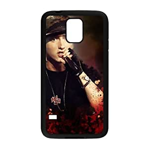 D-PAFD Customized Print Eminem Hard Skin Case Compatible For Samsung Galaxy S5 I9600