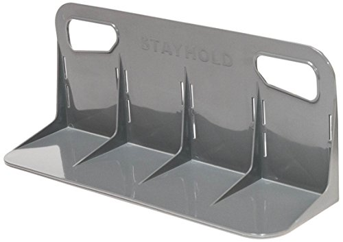 (STAYHOLD Classic Car Trunk Organizer, Adapts to Hold Any Size or Shape Item | Sticks to Carpet with Hard Gripping VELCRO Brand Technology | Cars, Trucks, SUV, Minivan & Boats | Size L - Classic, Gray)