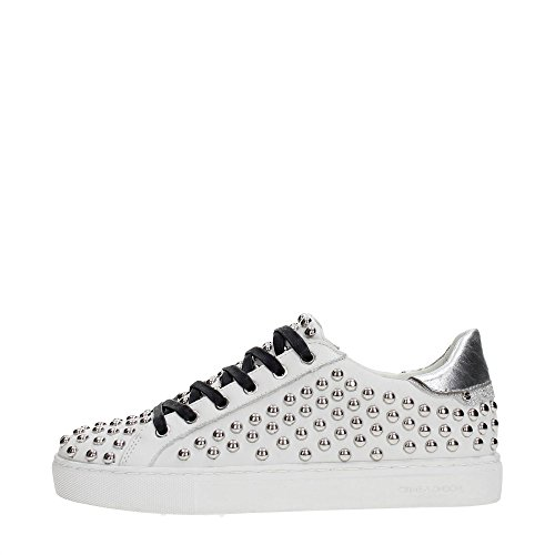 Crime 25218KS1 Sneakers Donna WHITE 39