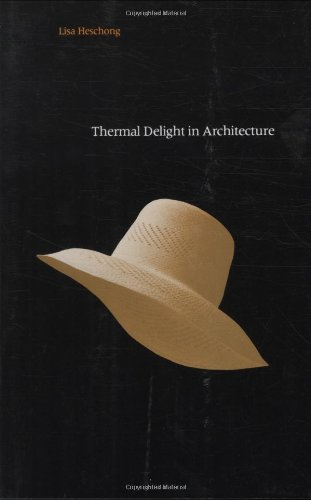 Pdf Transportation Thermal Delight in Architecture (The MIT Press)