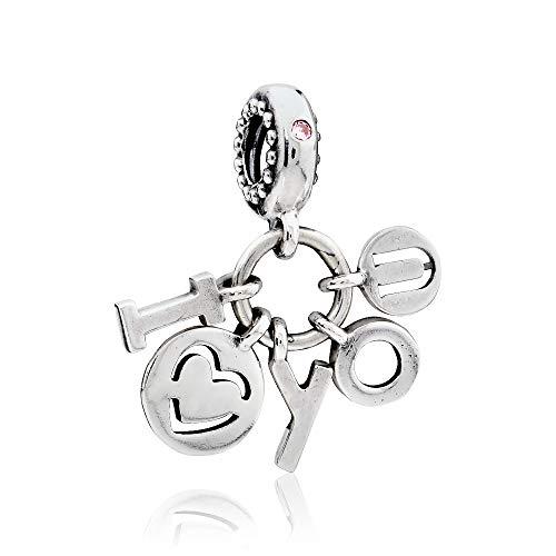 Pandora I Love You Dangle Charm 796596FPC -