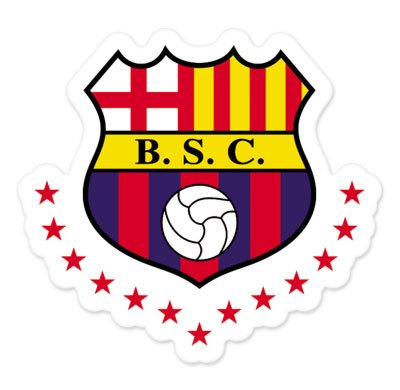 Barcelona SC - Ecuador Football Soccer Futbol - Car Sticker - 4""