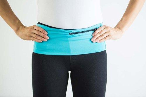 Hips sister Standard Left Coast Sister (Turquoise/Black Zipper, B (M/L - 29.5'' to 31''))