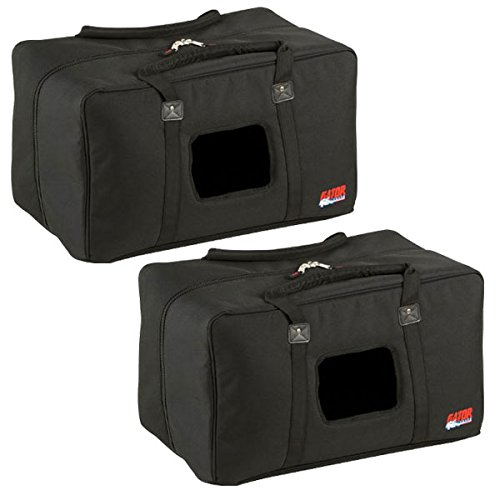 Gator GPA-450-515 Padded Nylon Speaker Bag Pair by Gator