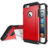 Best Obliq Iphone 6 Case For Protections - iPhone 6 Case, Obliq [SkyLine Pro][Red] Heavy Duty Review