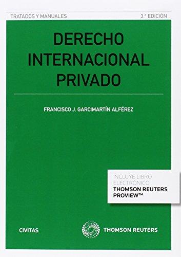 Descargar Libro Derecho Internacional Privado Z Francisco J.garcimartin Alfere