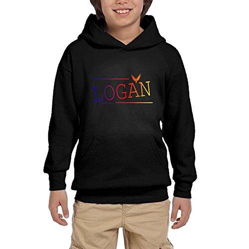 Lodakinss Logan Paul Sweatshirt Mens Maverick Logo Men's Funny Long Sleeve Sweater L Black