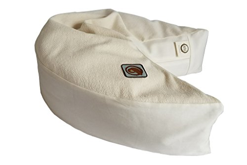 The Nesting Pillow - Organic Nursing Pillow with Washable Slip Cover by Blessed Nest (Image #1)