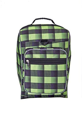 - Athalon Light 'n Go Boot Bag, Lime/Black