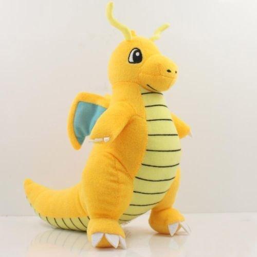 "tongrou New Pokemon Dragonite Soft Plush Toy Stuffed Doll Figure Kids Gift Hot 9"" 23cm"