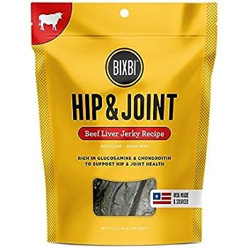 Amazon.com : Bixbi Hip & Joint Dog Jerky Treats, Beef
