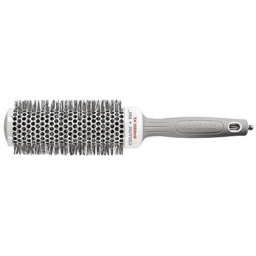 Olivia Garden Ceramic + IonTM Speed XL 45 mm - Hair Brush with Extra-Long Barrel for Larger Hair Sections, Faster Hair Drying & - Xl Ceramic