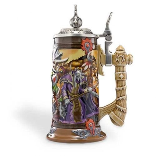 Taverncraft World of Warcraft Horde Stein Epic Edition Collectors Tankard Mug