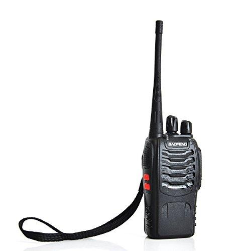 Baofeng BF-888S Portable 2-Way Radio Transceiver Handheld Walkie Talkie (Black) - 9