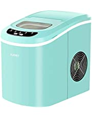KUPPET Portable Ice Maker Countertop Ice Cube Maker Machine with 26lbs Daily Capacity, 9 Ice Cubes Ready in 8 Minutes