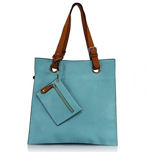 Mujer Azul Azul Claro Bolsa Clicktostyle Clicktostyle Bolsa Mujer wq6XRBxw