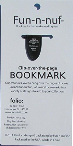 Owl Bookmarks (Clip-over-the-page) Set of 2 - Assorted colors Photo #2