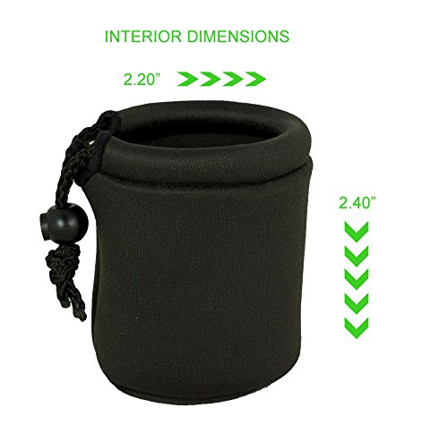 Sony 20mm f/2.8 Alpha E-Mount (2.5'') Prototypical Neoprene Lens Case (Lens Pouch) by Digital Nc