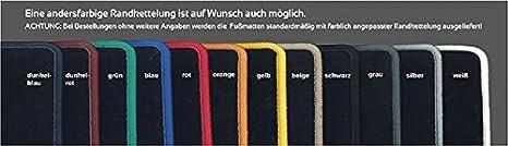 Velours dunkelblau Fußmatten für BMW 3er E21 75-83
