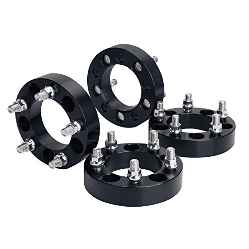 "Wheel Spacers for Jeep, KSP 4Pcs 1.25"" 5x4.5 to 5x4.5 (5x114.3) Thread Pitch 1/2""-20 Hub Bore 82.5mm 5 Lug 32mm Wheel Adapters for Cherokee Comanche Wrangler Grand Cherokee Liberty, 2 Years Warranty"