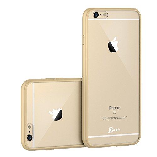 iPhone 6s Hülle, JETech Apple iPhone 6/6s 4.7 Hülle Tasche Schutzhülle Case Cover Bumper und Anti-Scratch Löschen Back für iPhone 6 6s 4.7 Zoll (Beige)