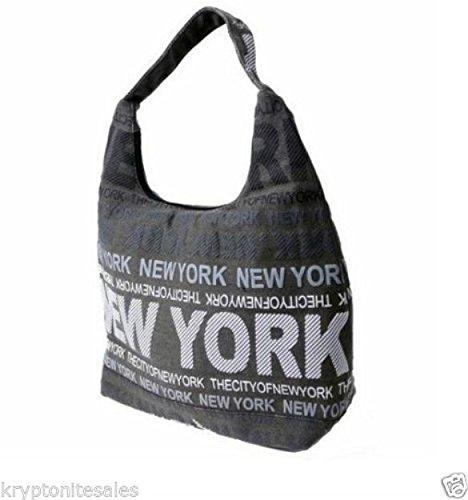 Robin Ruth New York City Cross Body Shoulder Sling Urban Canvas Hobo bag w/ free keychain