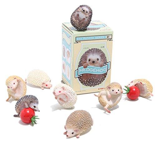 Kitan Club Putitto Hedgehog Collectible Figure Mystery Blind Box - 1 Random Piece 1 Random Blind Box