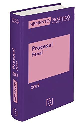 Memento Procesal Penal 2019 por Lefebvre-El Derecho