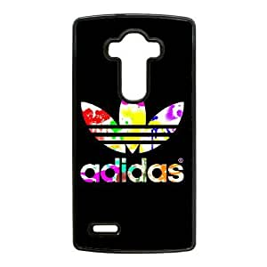 Plastic Cases Aaaff LG G4 Cell Phone Case Black Adidas Generic Design Back Case Cover