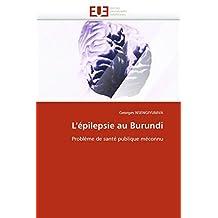 L  EPILEPSIE AU BURUNDI