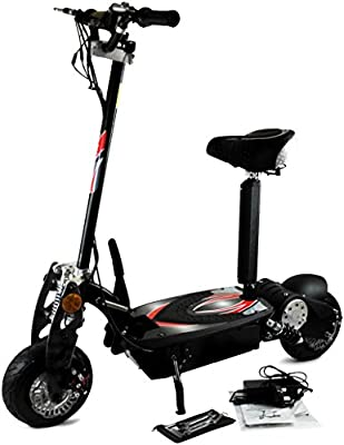 Micro Patinete Eléctrico Zipper 800W con Suspensión: Amazon ...