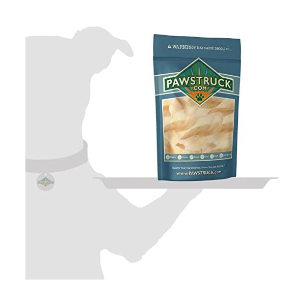 Pawstruck Jumbo Cow Ears for Dogs | Made in USA & Natural | Healthy Bulk Dental Dog Treats | Single Ingredient Chew | Fresh,Tasty Beef | Low Calorie, Digestible, Safe 6