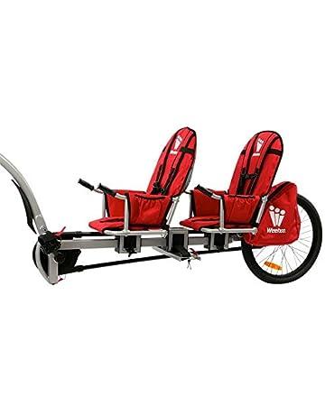 Weehoo Igo - Remolque de Bicicleta para niños de Dos plazas, para Edades de 4