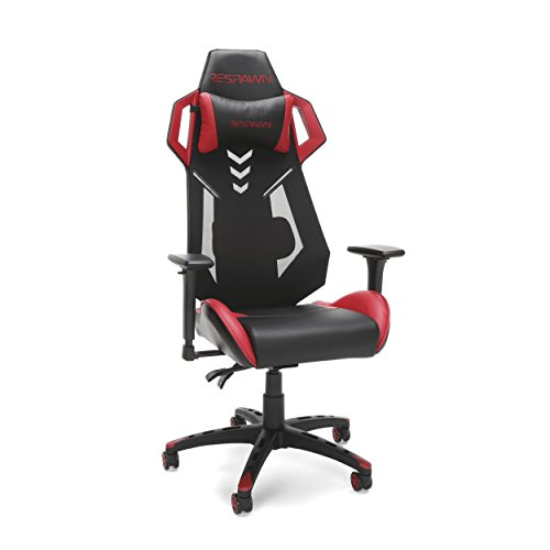 RESPAWN-200 Racing Style Gaming Chair - Ergonomic Performance Mesh Back Chair, Office Or Gaming Chair (RSP-200-RED)