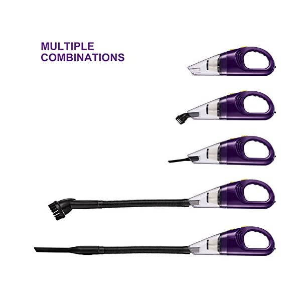 Car Vacuum Cleaner High Power LeadCon DC 12v Portable Handheld Car Vacuum Wet Dry 45Kpa Suction Auto Vacuum Cleaner Tools With Cigarette Lighter Plug 164ft Power Cord