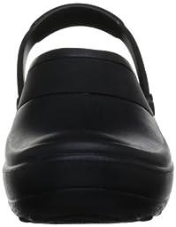 crocs Women\'s Mercy Clog, Black/Black, 7 M US