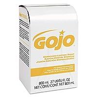 Jabón de loción enriquecido de la serie GOJO 800, aroma a base de hierbas, reposición de jabón de 800 ml para el dispensador de bolsas en caja de la serie GOJO 800 (caja de 12) - 9102-12